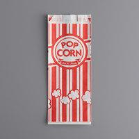 Carnival King 3 1/2 inch x 2 1/4 inch x 8 1/4 inch 1 oz. Popcorn Bag - 1000/Case