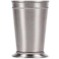 World Tableware JC-25 15 oz. Mint Julep Cup with Beaded Detailing
