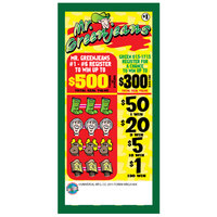 Mr. Greenjeans 5 Window Pull Tab Tickets - 1404 Tickets per Deal - Total Payout: $1090