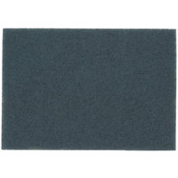 3M 5300 14 inch x 32 inch Blue Cleaner Pad - 10/Case