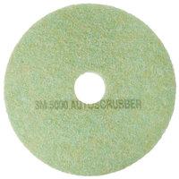 3M 5000 18 inch TopLine Autoscrubber Floor Pad - 5/Case