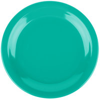 Carlisle 4350309 Dallas Ware 7 1/4 inch Meadow Green Melamine Plate - 48/Case