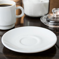 Arcoroc J7429 Intensity 4 1/2 inch Saucer by Arc Cardinal - 48/Case