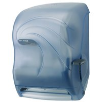 San Jamar T1190TBL Oceans Lever Roll Towel Dispenser - Arctic Blue