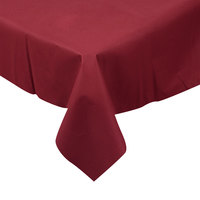 Hoffmaster 210433 82 inch x 82 inch Linen-Like Wine Table Cover - 12/Case