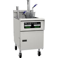 Pitco® SG18SD Natural Gas 70-90 lb. Floor Fryer with Digital Controls - 140,000 BTU