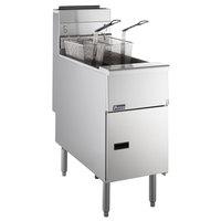 Pitco® SG14RS Solstice Liquid Propane 40-50 lb. Floor Fryer - 122,000 BTU