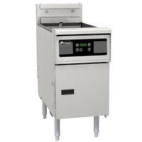 Pitco SE14R-D 40-50 lb. Solstice Electric Floor Fryer with Digital Controls - 240V, 1 Phase, 22kW