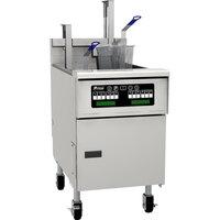 Pitco SG18SD 70-90 lb. Gas Floor Fryer with Digital Controls - 140,000 BTU