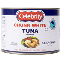 Premium Chunk White Albacore Tuna 66.5 oz.   - 6/Case