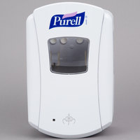 Purell® 1320-04 LTX-7 700 mL White Touchless Hand Sanitizer Dispenser