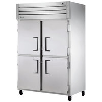 True STM2F-4HS Two Section Solid Half Door Reach-In Freezer
