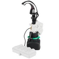 GOJO® 8520-01 CXi Chrome / Black Counter Mount Touchless Hand Soap Dispenser
