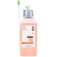 GOJO® 8562-02 CX Series Luxury 1500 mL Orange Blossom Foaming Antibacterial Hand Soap   - 2/Case