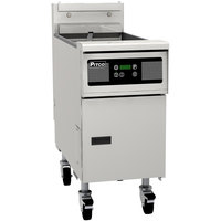Pitco SE184R-D 60 lb. Solstice Electric Floor Fryer with Digital Controls - 22kW
