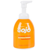 GOJO® 5762-04 Luxury 535 mL Orange Blossom Foaming Antibacterial Hand Soap with Pump - 4/Case