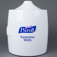 Purell® 9019-01 White Sanitizing Wipes Wall Dispenser