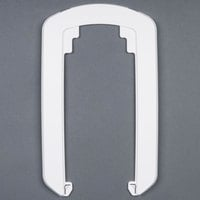 GOJO® 8890-WHT-12 White True Fit Wall Plate for ADX-12 Dispensers