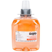 GOJO® 5162-03 FMX Luxury 1250 mL Orange Blossom Foaming Antibacterial Hand Soap - 3/Case