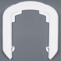 GOJO® 1390-WHT-12 White True Fit Wall Plate for LTX-7 Dispensers