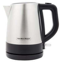 Hamilton Beach HKE110 1 Liter Stainless Steel Kettle - 120V, 1200W