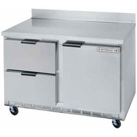 Beverage-Air WTFD60A-2 60 inch Two Drawer / One Door Worktop Freezer - 17.1 cu. ft.