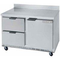 Beverage-Air WTFD60AHC-2 60 inch Two Drawer / One Door Worktop Freezer - 17.1 cu. ft.