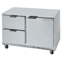 Beverage-Air UCFD60AHC-2 60 inch Undercounter Freezer with 2 Drawers and 1 Door - 17.1 Cu. Ft.