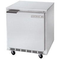 Beverage-Air UCF24 24 inch Shallow Depth Undercounter Freezer - 5.8 Cu. Ft.