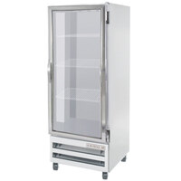Beverage-Air RID18-G 27 inch One Section Glass Door Pass-Through Refrigerator - 18 cu. ft.