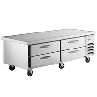 Beverage-Air WTRCS72D-1-76 76 inch Four Drawer Refrigerated Chef Base - 17.5 cu. ft.