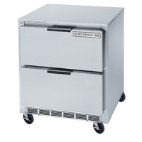 Beverage-Air UCFD27AHC-2 27 inch Undercounter Freezer with 2 Drawers - 7.3 Cu. Ft.