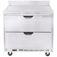 Beverage-Air WTFD36AHC-2 36 inch Two Drawer Worktop Freezer