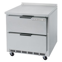 Beverage-Air WTFD36A-2 36 inch Two Drawer Worktop Freezer - 8.5 cu. ft.