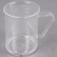 8 oz. Acrylic Dredge / Measuring Cup