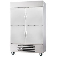 Beverage-Air FB49-1HS 52 inch Vista Series Two Section Solid Half Door Reach-In Freezer - 49 cu. ft.