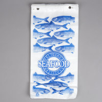 Seafood Bag 7 inch x 4 inch x 15 inch Delicious Seafood Design - 1000/Case