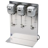 Waring DMC201DCA 2 Speed Triple Head Drink Mixer 120V