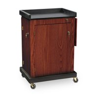 Oklahoma Sound SCLMY Smart Cart Lectern - Mahogany Finish