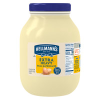 Hellmann's Extra Heavy Mayonnaise 1 Gallon Container - 4/Case