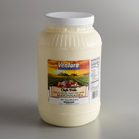 Ventura 1 Gallon Chef's Pride Extra Heavy Mayonnaise - 4/Case