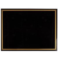 18 inch x 24 inch Ebony (Black) Marker Board