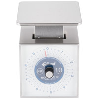 Edlund SR-10 Premier Series 10 lb. Mechanical Portion Scale with 6 inch x 6 3/4 inch Platform