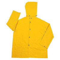 Yellow 2 Piece Rain Jacket - Medium