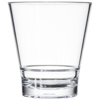 GET S-11-CL Revo 12 oz. Clear SAN Plastic Rocks Glass   - 24/Case