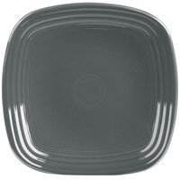 Homer Laughlin 920339 Fiesta Slate 9 1/8 inch Square China Luncheon Plate - 12/Case