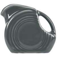 Homer Laughlin 475339 Fiesta Slate 5 oz. Mini Disc Creamer Pitcher - 4/Case