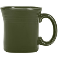 Homer Laughlin 923340 Fiesta Sage 13 oz. Square Mug - 12/Case