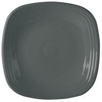 Homer Laughlin 919339 Fiesta Slate 10 3/4 inch Square Plate - 12/Case