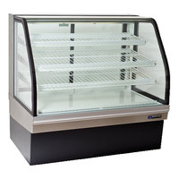 Master-Bilt CGB-59 59 inch Curved Glass Refrigerated Bakery Display Case - 24.5 cu. ft.